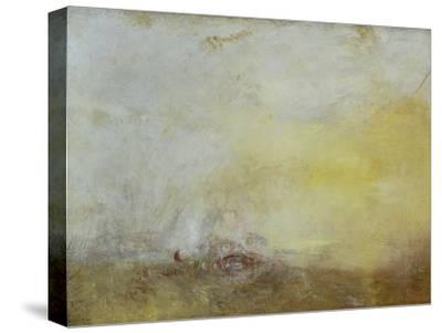 Sunrise with Sea Monsters-J^ M^ W^ Turner-Stretched Canvas Print