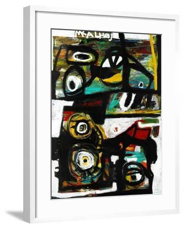 Eye Study-Martin Kalhoej-Framed Art Print