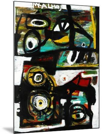Eye Study-Martin Kalhoej-Mounted Art Print