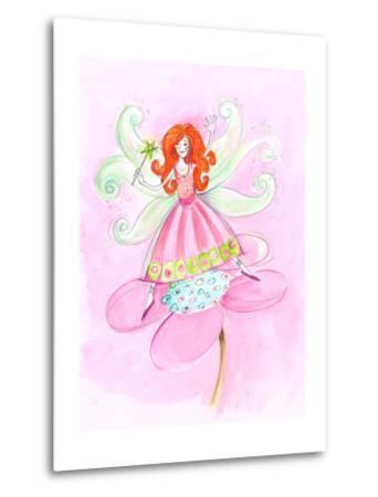Fairy Red Hair--Metal Print
