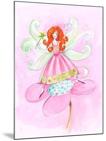 Fairy Red Hair--Mounted Art Print