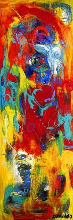 Abstract Painting-Dorte Kalhoej-Stretched Canvas Print