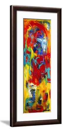 Abstract Painting-Dorte Kalhoej-Framed Art Print