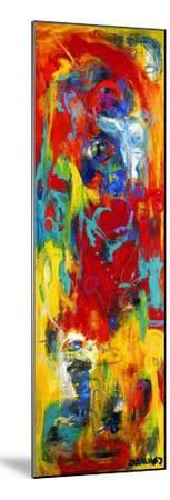 Abstract Painting-Dorte Kalhoej-Mounted Art Print