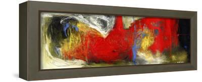 Abstract Painting-Dorte Kalhoej-Framed Stretched Canvas Print