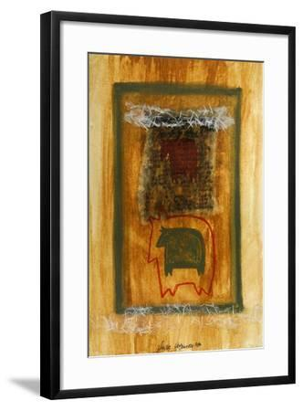 Little Cow 2-Susse Volander-Framed Art Print