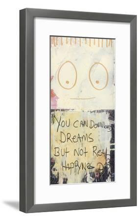 You Can Download Dreams-Poul Pava-Framed Art Print