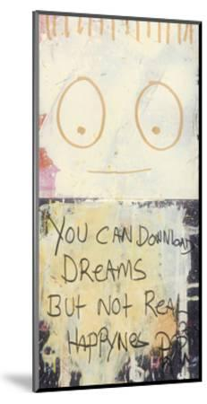 You Can Download Dreams-Poul Pava-Mounted Art Print