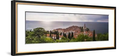 Piran and the Mediterranean Sea-Matthew Williams-Ellis-Framed Photographic Print