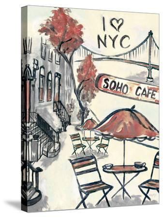 Artist's Soho-Edith Lentz-Stretched Canvas Print