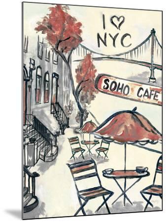 Artist's Soho-Edith Lentz-Mounted Premium Giclee Print