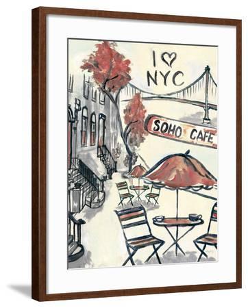 Artist's Soho-Edith Lentz-Framed Premium Giclee Print