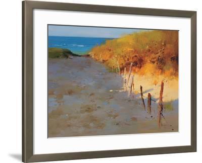 Sunset Beach--Framed Premium Giclee Print