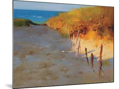 Sunset Beach--Mounted Premium Giclee Print