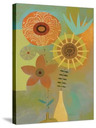 Todays Bouquet 2-Richard Faust-Stretched Canvas Print