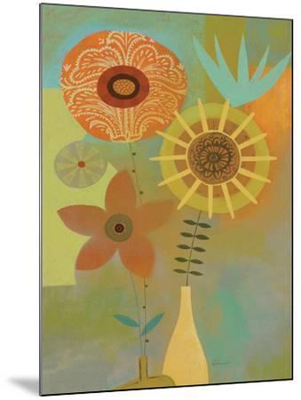 Todays Bouquet 2-Richard Faust-Mounted Premium Giclee Print