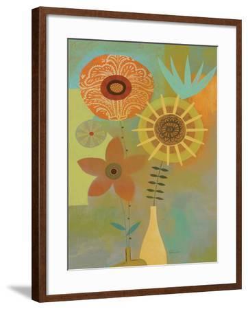 Todays Bouquet 2-Richard Faust-Framed Premium Giclee Print
