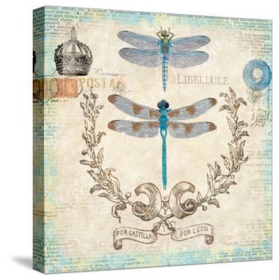 Victorian Dragonflies-Christopher James-Stretched Canvas Print