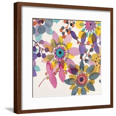 Candy Flowers 3-Karin Johannesson-Framed Premium Giclee Print