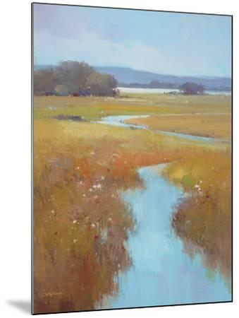 Misty River Bright--Mounted Premium Giclee Print