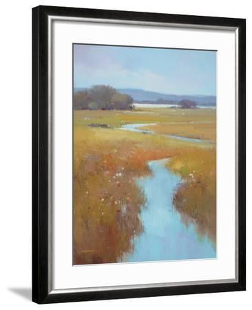 Misty River Bright--Framed Premium Giclee Print