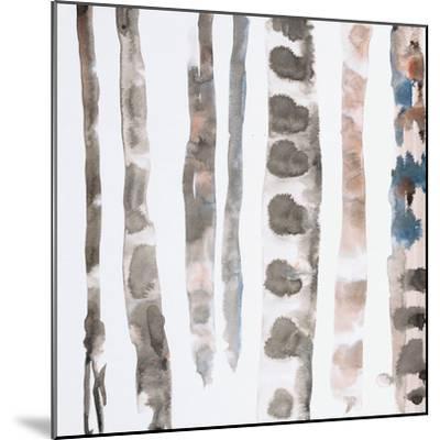 Reptile 1 Panel 1-Lora Gold-Mounted Premium Giclee Print