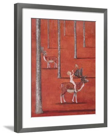 Hearing-Rebecca Campbell-Framed Giclee Print