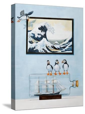 The Great Wave-Rebecca Campbell-Stretched Canvas Print