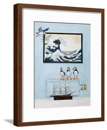 The Great Wave-Rebecca Campbell-Framed Giclee Print