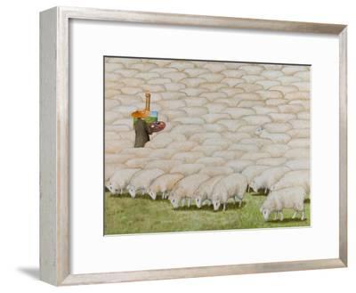 En Plein Air, 2012-Rebecca Campbell-Framed Premium Giclee Print