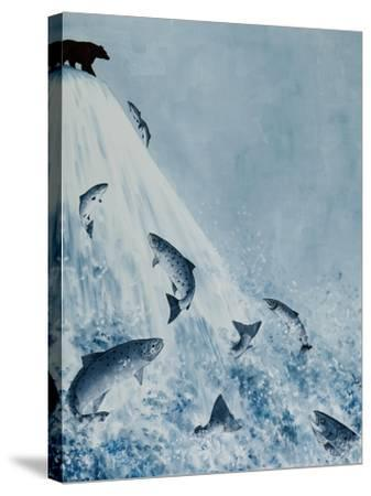 Against All Odds-Rebecca Campbell-Stretched Canvas Print
