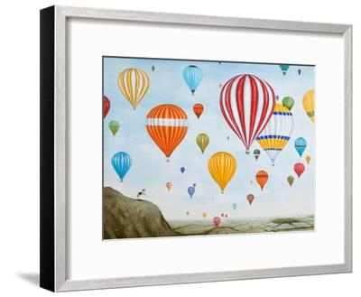 Hot Air Rises, 2012-Rebecca Campbell-Framed Giclee Print