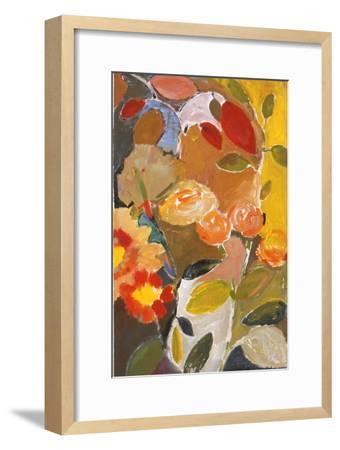 Orange Roses-Kim Parker-Framed Giclee Print