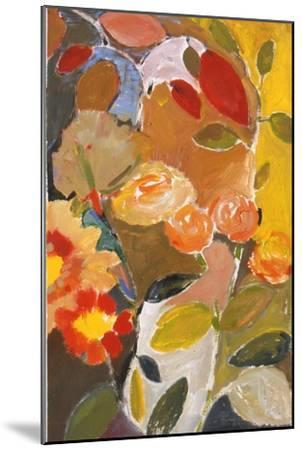 Orange Roses-Kim Parker-Mounted Giclee Print