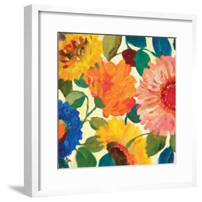 Passion Flowers 1-Kim Parker-Framed Giclee Print