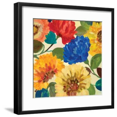 Passion Flowers 2-Kim Parker-Framed Giclee Print