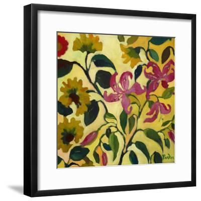 Pink Lilies-Kim Parker-Framed Giclee Print