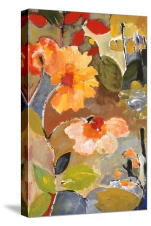 Waterlillies-Kim Parker-Stretched Canvas Print