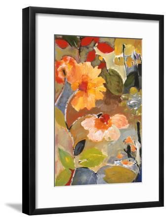 Waterlillies-Kim Parker-Framed Giclee Print