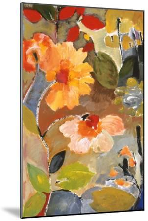 Waterlillies-Kim Parker-Mounted Giclee Print