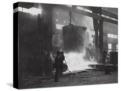 First World War: Foundry Italian Army--Stretched Canvas Print