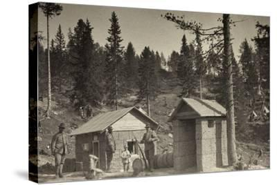 World War I: Place Phone--Stretched Canvas Print