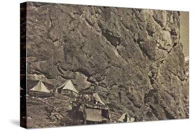 World War I: Encampment Alpine--Stretched Canvas Print