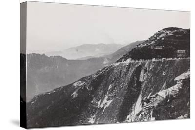 World War I: Trail from Mount Novegno to Mount Summano--Stretched Canvas Print