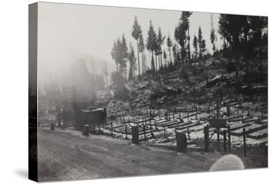 World War I: Cemetery of the Twelfth Division--Stretched Canvas Print
