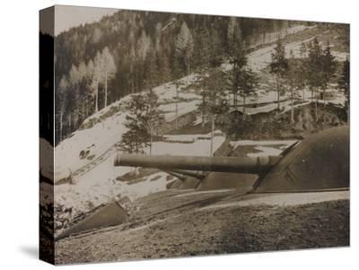 World War I: Cupole Corazzate Di 149--Stretched Canvas Print