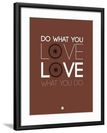 Do What You Love Love What You Do 8-NaxArt-Framed Art Print