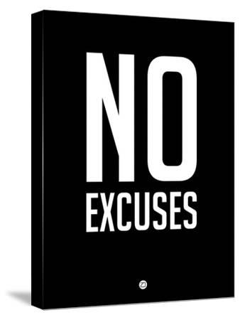 No Excuses 1-NaxArt-Stretched Canvas Print