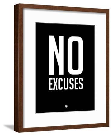 No Excuses 1-NaxArt-Framed Premium Giclee Print