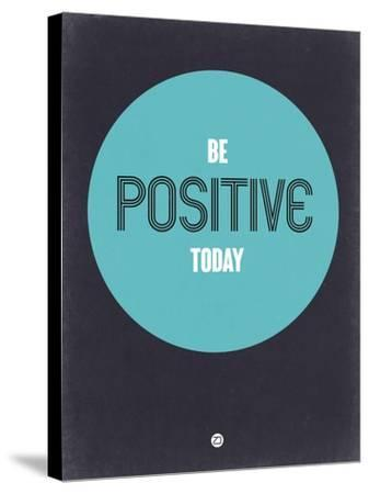 Be Positive Today 2-NaxArt-Stretched Canvas Print